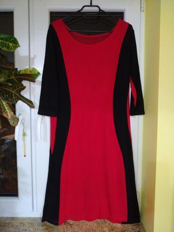 Czerwona sukienka r. L