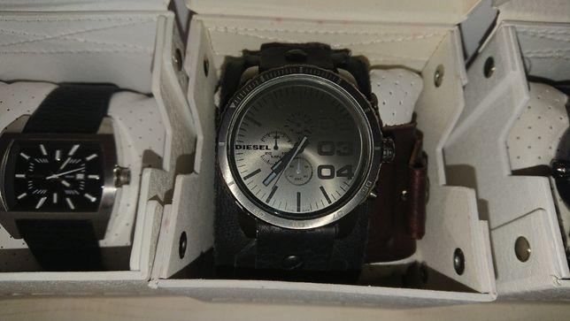Czasomierz zegarek męski DIESEL DZ4273 dwa paski stan bdb wysyłka