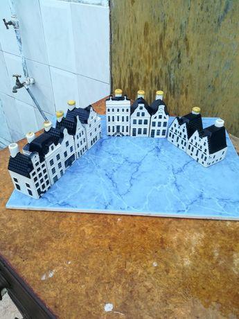 Cidade antiga Holanda 1575