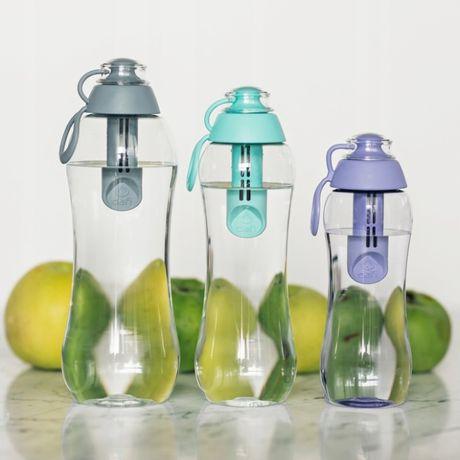 Butelka filtrująca do wody DAFI 0.7L +2 filtry DAFI szara stalowa