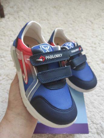 Pablosky новые кожаные кроссовки 32р.