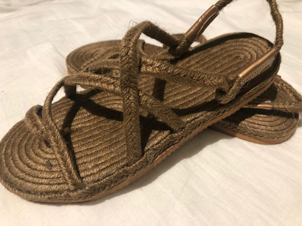 Sandalias de rafia 39