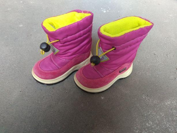 Buty, kozaczki zimowe dziecięce, rozm. 21