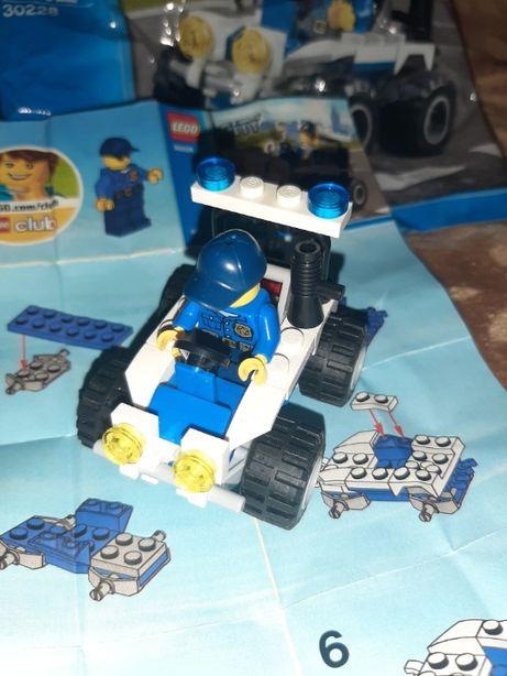 Lego City Полицейский квадроцикл 5-12 лет (оригинал)