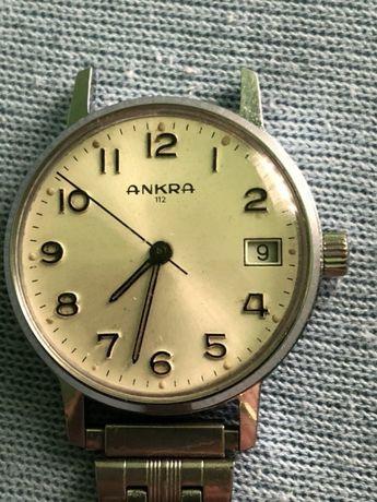 Stary zegarek mechaniczny Ankra