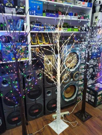 Led Дерево Новогоднее гирлянада светильник 160 см IP 46