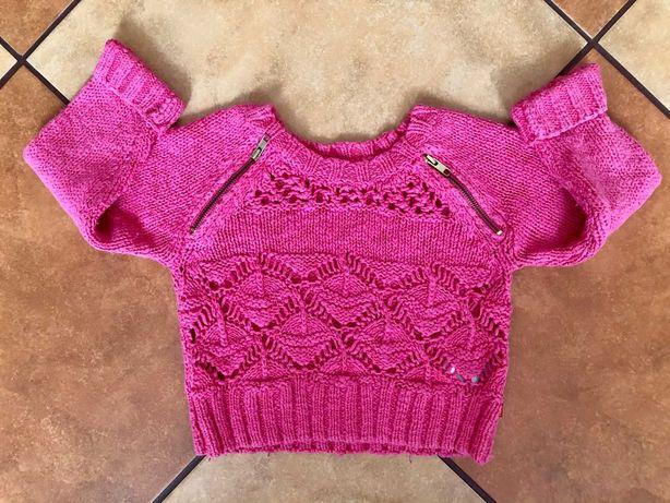 Sweter żurowy krótki na 5 lat