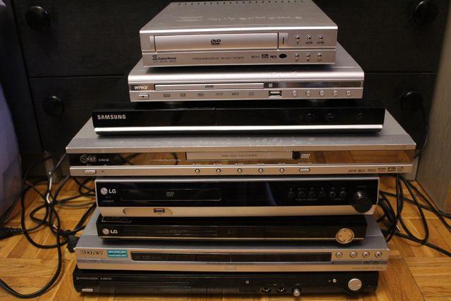 Odtwarzacze DVD Domowe kino uszkodzone na części Sony LG Samsung