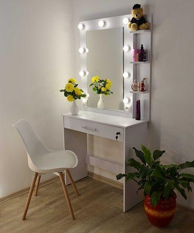 Макияжный туалетный столик трюмо зеркало для парикмахера бровиста
