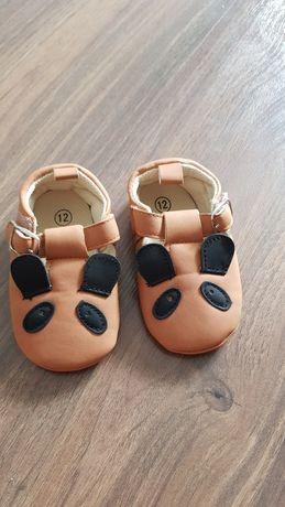 Nowe buciki niemowlęce 6-9miesięcy