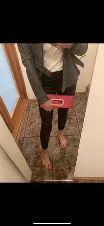 Kopertówka torebka do ręki różowa