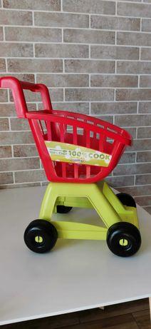 детская тележка супермаркет Ecoiffier