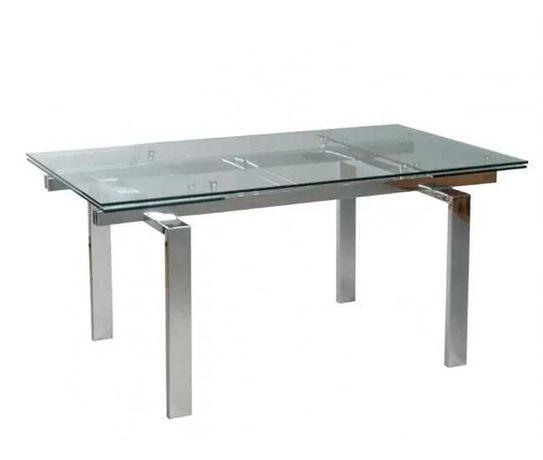 Mesa de Jantar de vidro Conforama