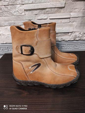 Продам детские демисезонные ботинки, размер 29, натуральная кожа