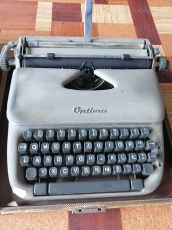 Stara Maszyna do pisania Optima