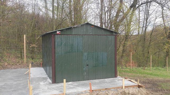 Garaż blaszany 3x5 dwuspad,wiaty,hale,domki narzędziowe