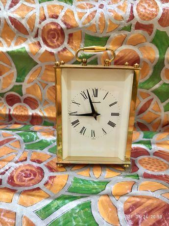 Часы настольные каминные Timemaster (Латунь)
