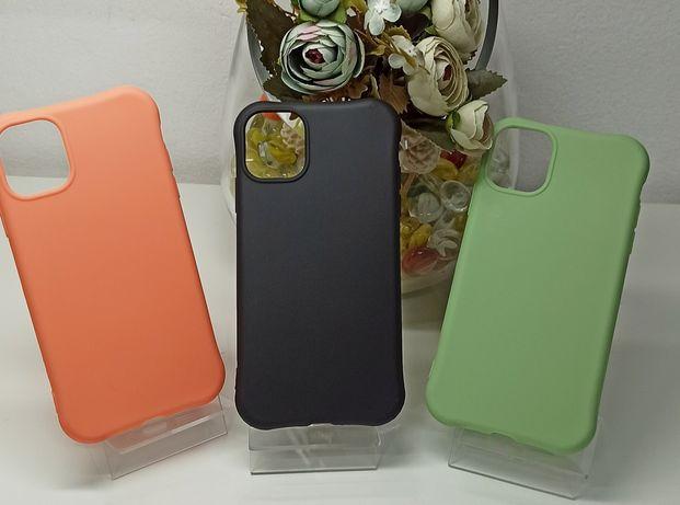 Capa Silicone P/ iPhone 11 / 12 Pró Max -Nova- 24h - PROMOÇÃO