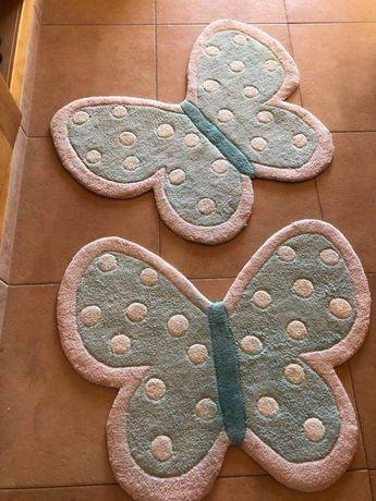 Tapetes borboletas 8€ cada uma