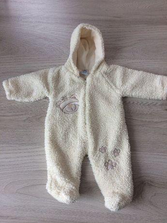 Ubranka niemowlęce, kombinezon, pajac, czapka, szalik, rękawiczki 62cm