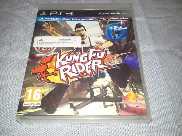 gra na PS3 Kung Fu Rider na kontroler Move
