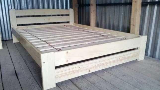 Кровать из cocновой дpeвесины маccив Linea