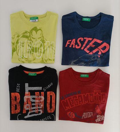 T-shirts Benetton 2 anos.