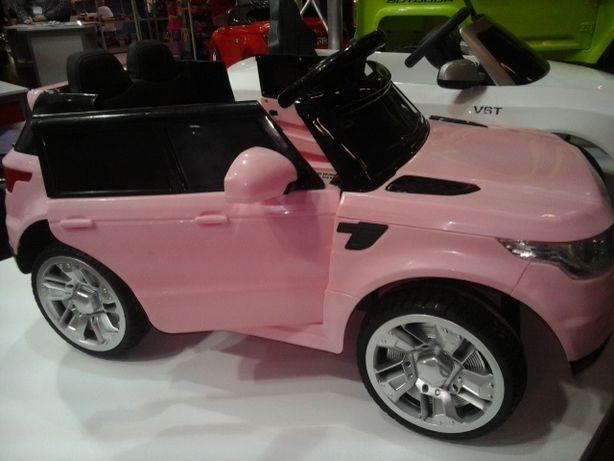 Auto samochód na akumulator pojazd Fotel Skór