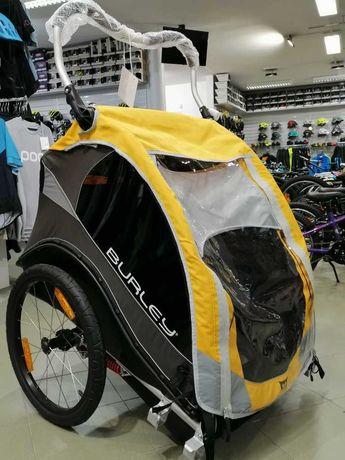 Burley Cub amortyzowana przyczepka rowerowa dwuosobowa Nowa