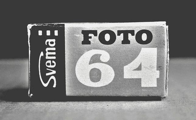Фотопленка Svema «Foto-64» 36 кадров / 35 мм (Просроченная)