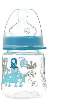 Бутылочка для кормления  с силиконовой соской  150 мл - Nip Германия