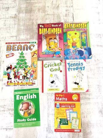 Komiksy i książki w języku angielskim dla dzieci