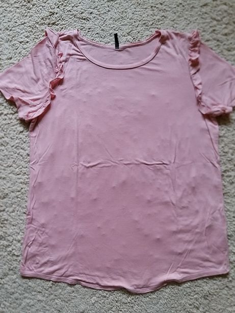 Benetton bluzka/koszulka damska M