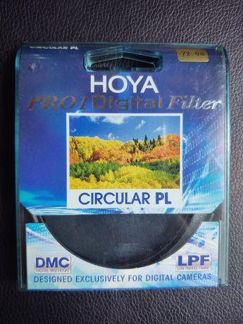 Hoya PRO1 digital filtr polaryzacyjny kołowy 72mm