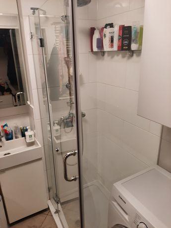 Bezramowa kabina prysznicowa 70x90 grube porządne szkło bez brodzika