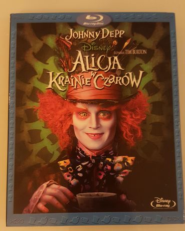 Alicja w krainie czarów Blu-ray