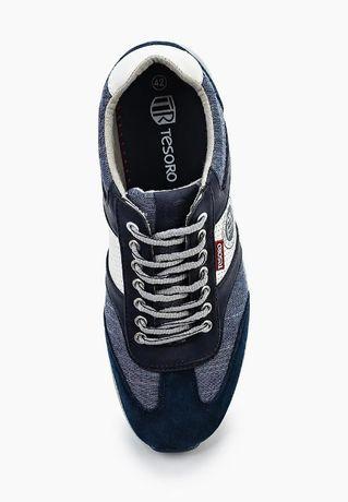 Мужские итальянские кроссовки tesoro, 43