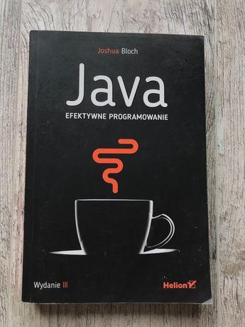 Książka Java. Efektywne programowanie wyd. III - Joshua Bloch