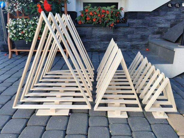 Choinki drewniane