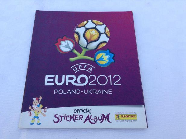 Caderneta EURO 2012 UEFA PANINI completa - Futebol + 1 álbum vazio