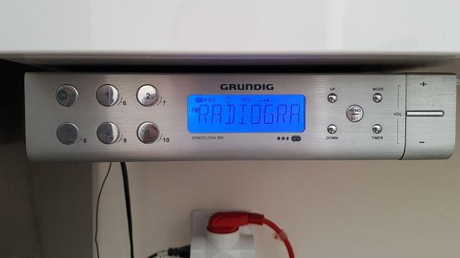 Radio podszafkowe podwieszane Grundig sonoclock 890