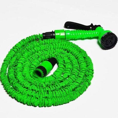 Шланг для полива X HOSE 15 м с распылителем, садовый шланг, поливочный