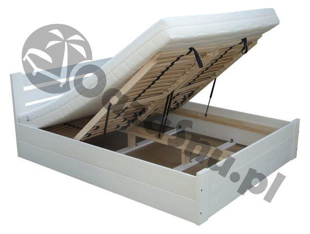 łóżko otwierane z głęboką skrzynią ok. 27 cm EUFORIA 160x200
