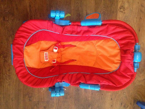 Leżaczek bujaczek Fisher Price 0-9 kg czerwony