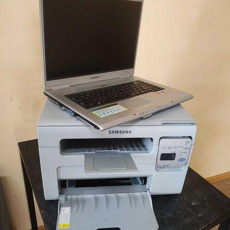 Samsung SCX-3400+ноутбук у подарок. Лазерный  принтер копир сканер.