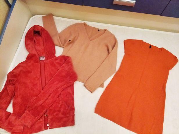 Платье Benetton+кофты на 6-8лет