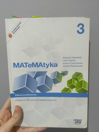 Książka matematyka liceum/technikum
