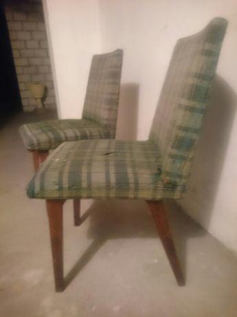 Krzesło patyczak prl loft vintage 2 sztuki