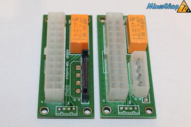 Синхронизатор БП Add2PSU molex и sata