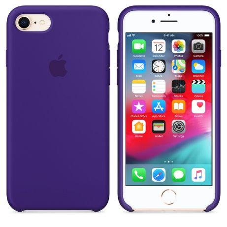 Силиконовый Чехол На Айфон 7/8 Apple Silicone Case IPhone